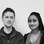Matt Doyle and Salma Khatun