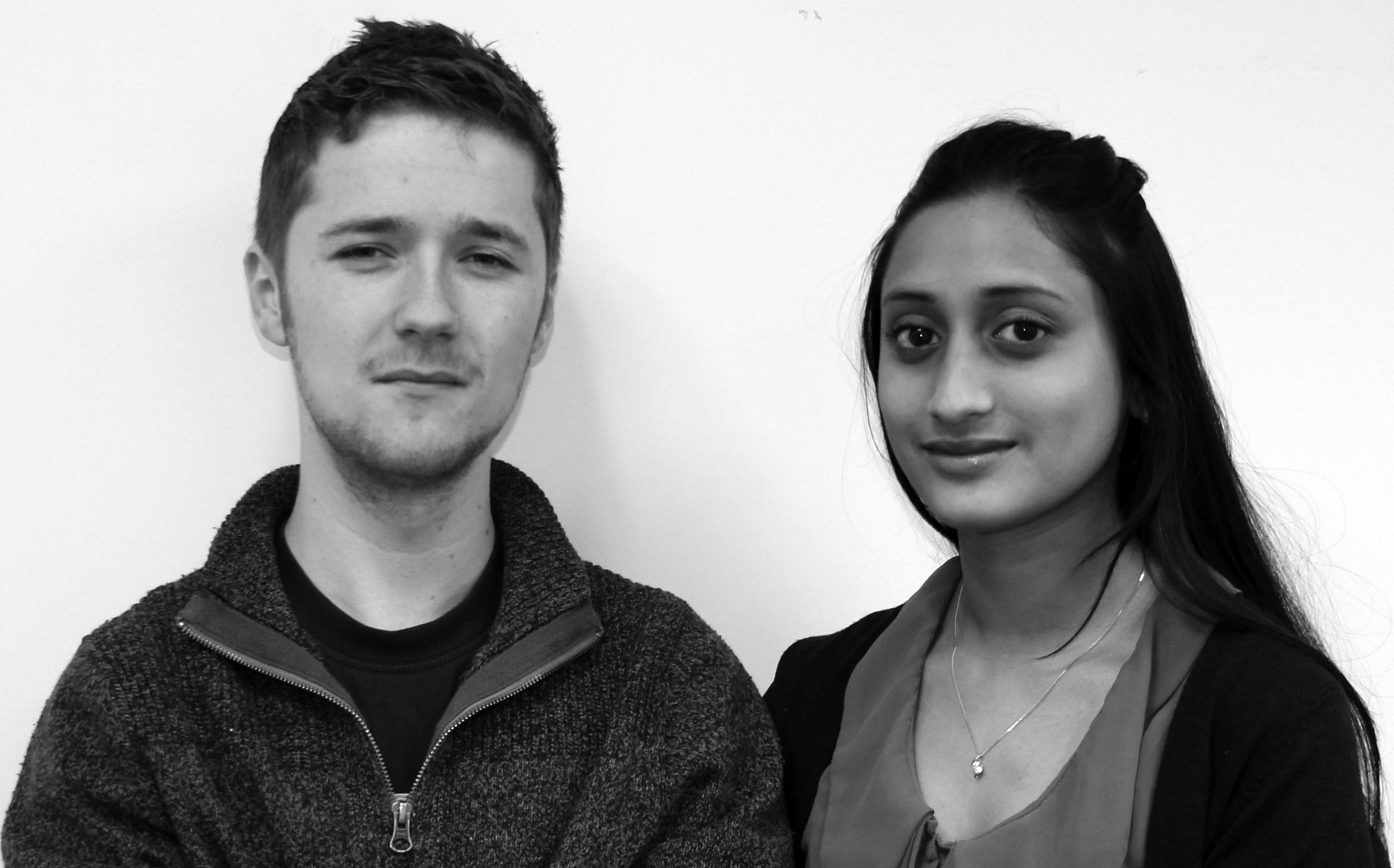 Matt Doyle & Salma Khatun